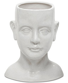 Madison Park Facade Human-Shaped Ceramic Vase
