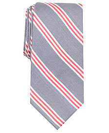 Nautica Men's Holland Stripe Slim Silk Tie