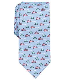Nautica Men's Turtle Bunny Neat Slim Tie