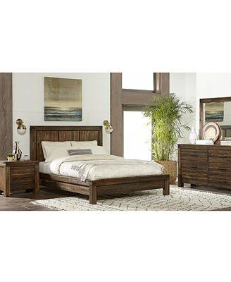 Furniture Avondale Platform Bedroom Furniture Collection Furniture