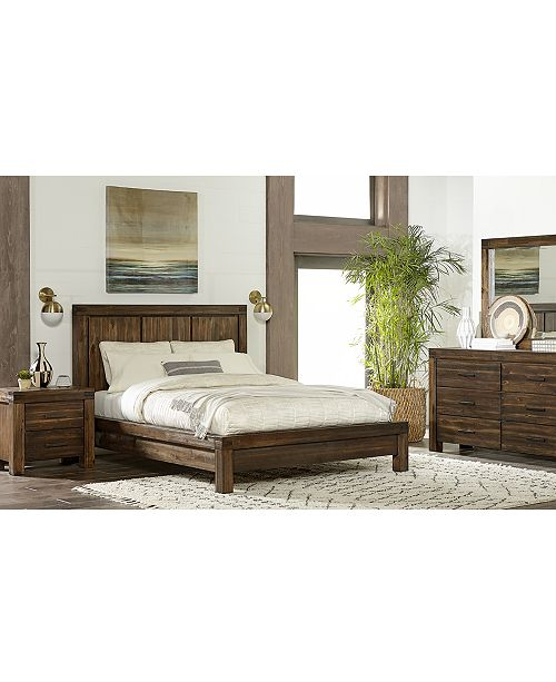 Furniture Avondale Queen Platform Bed - Furniture - Macy\'s
