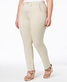 Trendy Plus Size Smart Trouser Jeans