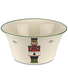 Spode Christmas Tree Nutcracker 8'' Bowl, Created for Macy's