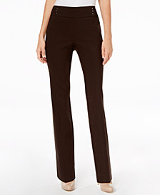 JM Collection Studded Pull-On Pants, Created for Macy's