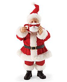 Department 56 Possible Dreams Mugstache Santa Figurine