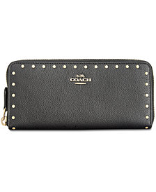 COACH Slim Accordion Zip Wallet