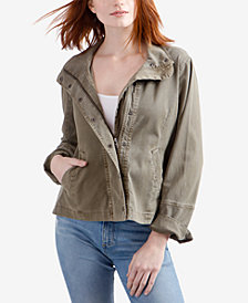 Lucky Brand Mid-Length Utility Jacket