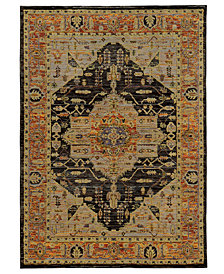 "Macy's Fine Rug Gallery Journey Heriz Gold 10' x 13' 2"" Area Rug"