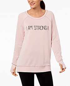 Ideology Breast Cancer Research Foundation Top, Created for Macy's