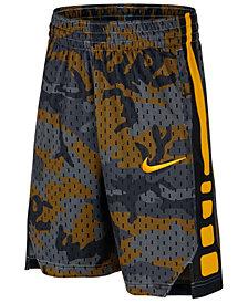 Nike Big Boys Elite Printed Basketball Shorts