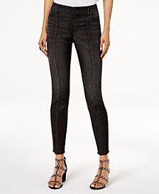 I.N.C. Seamed Skinny Jeans, Created for Macy's