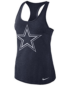 Nike Women's Dallas Cowboys Dri-Fit Touch Tank