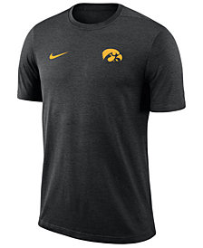 Nike Men's Iowa Hawkeyes Dri-Fit Coaches T-Shirt