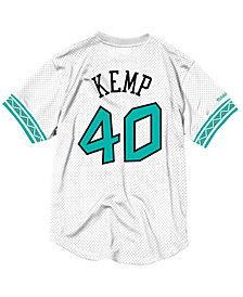 Mitchell & Ness Men's Shawn Kemp NBA All Star 1996 Mesh Crew Neck Jersey