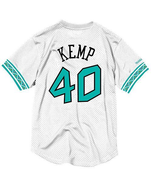 264dfd23892 ... Jersey  Mitchell   Ness Men s Shawn Kemp NBA All Star 1996 Mesh Crew  Neck ...