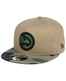 New Era Atlanta Hawks Camo Tipping 9FIFTY Snapback Cap