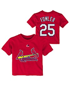 Majestic Dexter Fowler St. Louis Cardinals Official Player T-Shirt, Infants (12-24 Months)