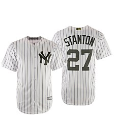 Majestic Men's Giancarlo Stanton New York Yankees USMC Cool Base Jersey