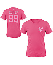Majestic Aaron Judge New York Yankees Player T-Shirt, Girls (4-16)