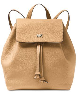 michael kors junie flap backpack handbags accessories macy s rh macys com