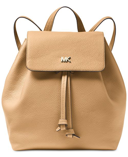 d175027edae0 Michael Kors Junie Flap Backpack   Reviews - Handbags   Accessories ...
