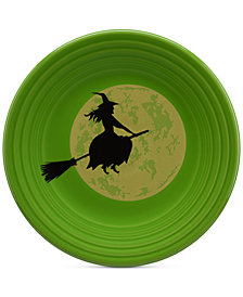 Fiesta Moon Witch Lunch Plate