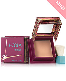 Benefit Cosmetics hoola matte Box O' Powder travel-size bronzer mini