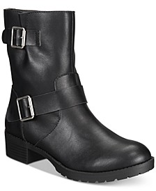 Gianara Moto Booties, Created For Macy's