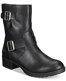 Style & Co Gianara Moto Booties, Created For Macy's