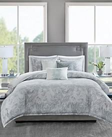 Emory 6-Pc. Full/Queen Duvet Set
