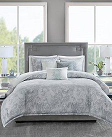 Madison Park Emory 6-Pc. Full/Queen Duvet Set