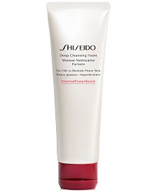 Shiseido Deep Cleansing Foam (For Oily to Blemish-Prone Skin), 4.2-oz.