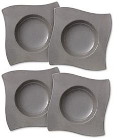 Villeroy & Boch New Wave Stone Set of 4 Pasta Plates