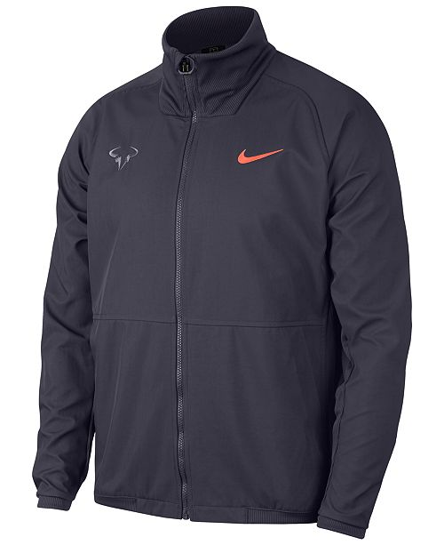 Nike Men S Rafael Nadal Tennis Jacket Reviews Coats Jackets Men Macy S