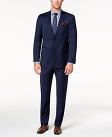 Tommy Hilfiger Men's Modern-Fit TH Flex Stretch Navy Twill Suit Separates