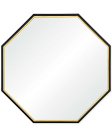Octo Large Octagon Mirror, Quick Ship
