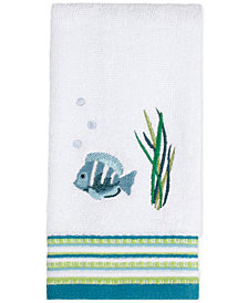 Saturday Knight Atlantis Cotton Embroidered Fingertip Towel