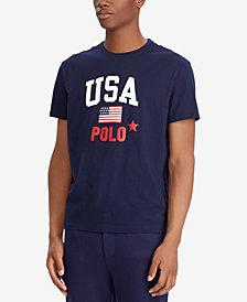Polo Ralph Lauren Men's Big & Tall Classic Fit USA T-Shirt