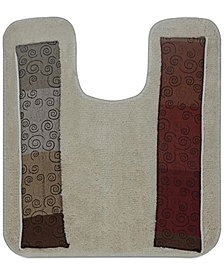 "Popular Bath Miramar 21"" x 24"" Contour Bath Rug"