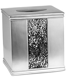 Popular Bath Sinatra Silver Tissue Box