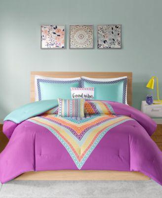 Lani 5-Pc. Full/Queen Comforter Set