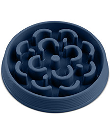 TarHong Slow Chow™ Medallion Medium Blue Feeder