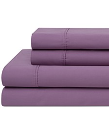 Cotton Cotton 420 Thread Count Wrinkle Free 4-Pc. Full Sheet Set