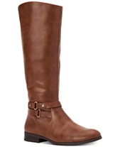 69a9658c2 Style & Co Kindell Riding Boots, Created For Macy's