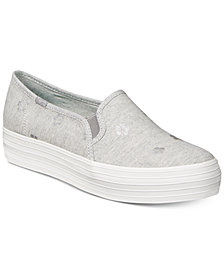 Keds Women's Triple Decker Ortholite® Slip-On Fashion Sneakers