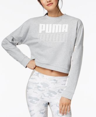 dryCELL® Logo Cropped French Terry Sweatshirt