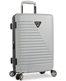 "Nautica Flagship 20"" Hardside Expandable Carry-On Spinner Suitcase"
