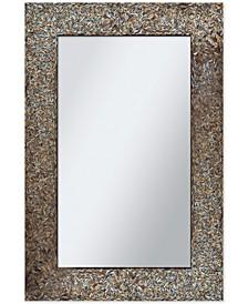 Amber Mosaic Wall Mirror, Quick Ship