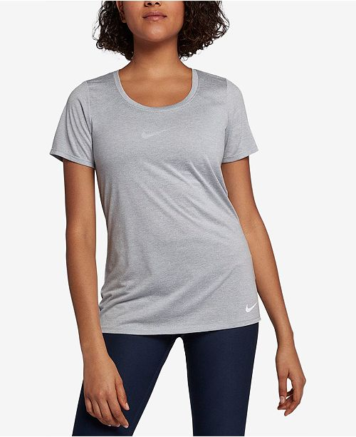 c04f9b52f Nike Dry Legend Scoop Neck Training Top & Reviews - Tops - Women ...