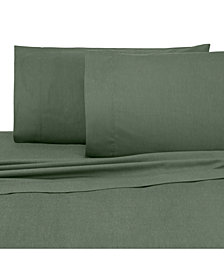 IZOD Chambray 300 Thread Count 4-Pc. Queen Sheet Set